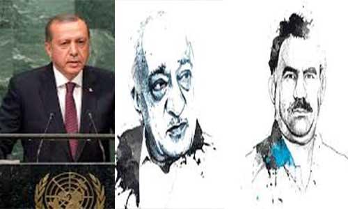 Erdoğan, Feto ile Apo'yu BM'ye Şikâyet Etti
