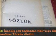 """Kemalizm Türk'ün Dinidir"""