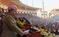 Barzanî: Ala Kurdistanê sembola yekbûna me ye!