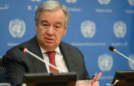 Antonio Guterres: Hilweşandina Iraqê metirsîyeke zêde ye