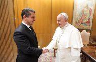 Papa Pêşwazî li Serokwezîrê Kurdistanê kir
