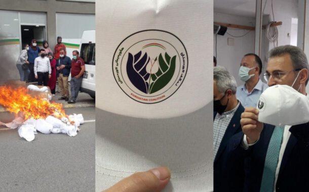 Yakılan Kürdistan Şapkaları!