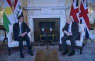 Nêçîrvan Barzanî bi Boris Johnson ra civîya